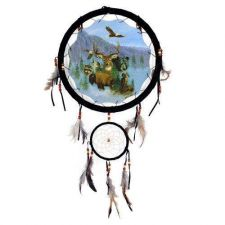 "Buy 13"" Wildlife Dream Catcher ***ON SALE***"