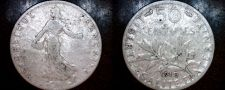 Buy 1910 French 50 Centimes World Silver Coin - France