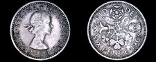Buy 1963 Great Britain 6 Pence World Coin - UK - England