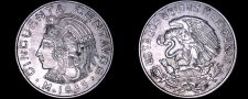 Buy 1965 Mexican 50 Centavo World Coin - Mexico