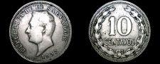 Buy 1952 El Salvador 10 Centavo World Coin
