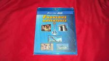 Buy FABULOUS ADVENTURES 3D & 2D BLU-RAY NEW & FACTORY SEALED ZOO THEME PARK SEA MORE