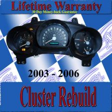 Buy 03 04 05 06 SSR CLUSTER REPAIR SERVICE READ LISTING NEW STEPPERS & BULBS
