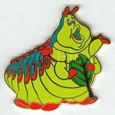 Buy Heimlich the caterpillar full body Disney A Bug's Life authentic pin/pins