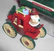 Buy Hallmark-Kringle Koach Handcrafted Santa ornament-dated 1988