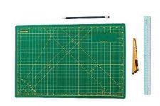 Buy Cutting Mat Grid Office Home School Rotary Self Healing Reseal Repair Arts Craft