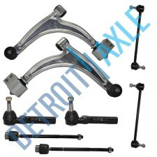 Buy 8 pc Set: Control Arm and Ball Joint Assembly, Tie Rod Ends, Sway Bar Links