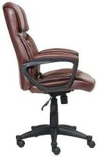 Buy Manager Desk Chair Furniture Leather Executive Serta Office Computer Comfortable