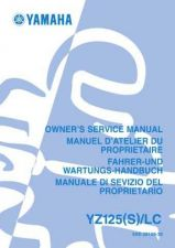 Buy Yamaha YZ125 5XE-28199-30 Motorcycle Service Manual by download Mauritron #344168