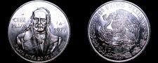 Buy 1977 Mexican 100 Peso World Silver Coin - Mexico Morelos - In Line 7s