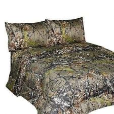 Buy Camoflauge SOFT Bedding Camo Brown QUEEN SIZE Bed Sheets Microfiber Material