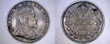 Buy 1908 Canada 5 Cent World Silver Coin - Canada - Edward VII