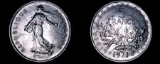 Buy 1971 French 5 Franc World Coin - France
