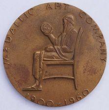Buy 1960 Metallic Art Company 60 Year Anniversary Medal - Very Large