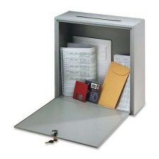 "Buy Office Mailbox Post Wall Interoffice Steel Small Door Home Letter ""3x10 x12"" Key"