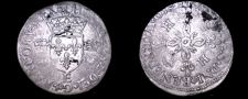 Buy 1550-E French Douzain Aux Crescent World Coin - France Henry II