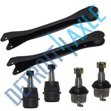 Buy NEW 6 pc Kit - 2 Front Upper Control Arm + 2 Upper and 2 Lower Ball Joint Set