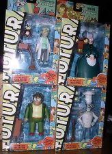 Buy Futurama-Professor-Hermes-Chef Bender-Mom-Series 7-8 Roberto Build a Bot