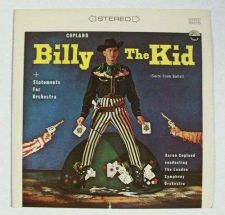 Buy BILLY THE KID Aaron Copland (Suite from Ballet) Classical LP