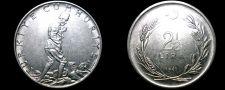Buy 1962 Turkish 2 1/2 Lira World Coin - Turkey
