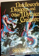 Buy Needlework Dragons & Mythical Creatures Hardback patterns book by Carol Gault