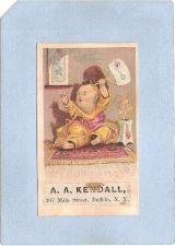 Buy New York Buffalo Victorian Trade Card A. A. Kendall, 307 Main Street ny_bo~82