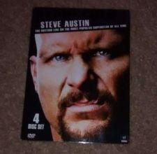 Buy WWE Stone Cold Steve Austin The Bottom Line (DVD, 2011, 4-Disc Set)