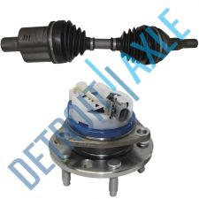 Buy NEW Front 93-96 Cadillac Wheel Hub Assembly +Front Axle Shaft-ABS-Left or Right