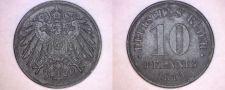 Buy 1919 German 10 Pfennig World Coin - Germany