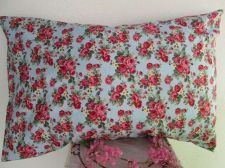 "Buy Valentine Standard Pillow Case Pink Rose Floral Cotton Fabric 20""x 30""/50x 76 cm"