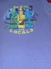 Buy NWT Mens Ocean & Coast cotton crew neck graphic tee shirt $28 MSRP sz L