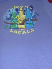 Buy NWT Mens Ocean & Coast cotton crew neck graphic tee shirt $28 MSRP sz L