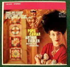 Buy POPS CAVIAR / Fiedler / Boston Pops ~ Rimsky-Korsakoff / Borodin Classical LP