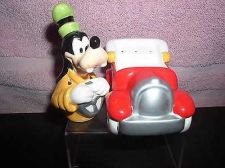 Buy Disney Goofy Hot Rod red CAR Salt & Pepper