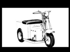 Buy CUSHMAN MINUTE MISER ELECTRIC CART & SCOOTER MANUALs 95pg Operations Parts Lists