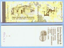 Buy New York Elmira Matchcover Elmira Savings & Loan Association Corner West W~129
