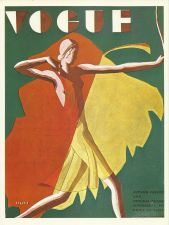 Buy Vogue 1932 Cover Print - Benito Lady Archer Archery Art Deco 1984 original print