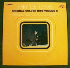 Buy JERRY LEE LEWIS ~ Original Golden Hits - Volume 2 1969 Country LP