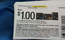 Buy (100) $1 off U by Kotex Coupon EXP 6/30/15 *SAVE $100*