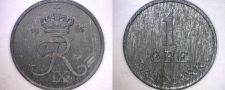 Buy 1965 Danish 1 Ore World Coin - Denmark