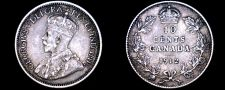 Buy 1912 Canada 10 Cent World Silver Coin - Canada - George V