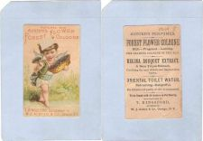 Buy New York Oswego Victorian Trade Card T Kingsford, Successor to W. J. Autse~64