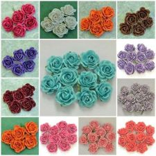 Buy 50 Pcs Artificial Mulberry Paper Flower Head Big Flowers Craft 3.8 cm./1.5""