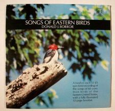 Buy SONGS OF EASTERN BIRDS ~ Donald J. Borror LP / Includes 32-page booklet 1970