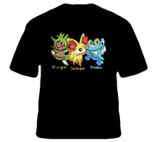 Buy Pokemon X & Y Chespin Fennekin Froakie Shirt S to XL