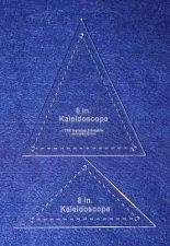 """Buy 2 Piece Set Kaleidoscope 8"""" Templates w/holes Acrylic 1/8"""" thick. Quilting"""