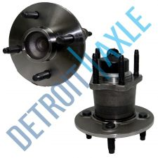 Buy Pair of 2 Rear Driver and Passenger Wheel Hub and Bearing Assembly 4 Wheel ABS
