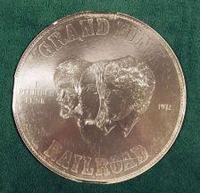 Buy GRAND FUNK RAILROAD ~ E Pluribus Funk 1971 Rock LP 'Round Coin' cover