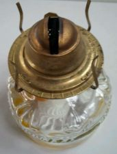Buy EAGLE Vintage Oil Burning Lamp / Base Only-Glass / NO GLOBE/ Good+Condition