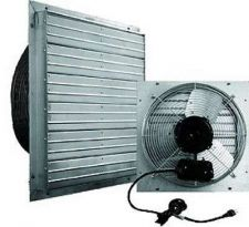 "Buy 16"" Shutter Fan Exhaust Garage Wall Mounted Warehouse Industrial Drive Attic Air"